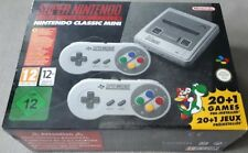 Nintendo Classic Mini Super Nintendo Entertainment System SNES Brand New 21 game