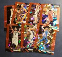 2018-19 Panini Prizm Basketball Red Cracked Ice You Pick From List