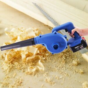 Compact Cordless Blower Vacuum W/ 21V 138VF Battery 2 in 1 Sweeper & Vacuum A-U