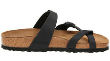Birkenstock Mayari Black Leather Sandals