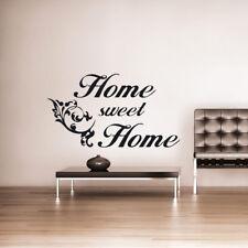 Home sweet home Shadow Wandtattoo Wandaufkleber Wandsticker zu Hause Schatten