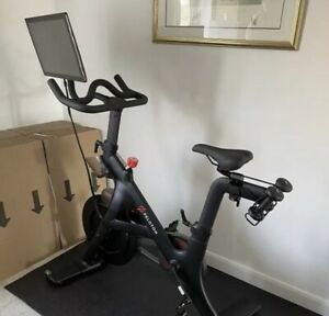 Peloton Plus Model Exercise Bike Brand New With Shoes Heart Rate Monitor Etc