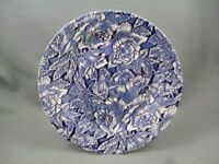 Churchill Bermuda Blue dinner plate.