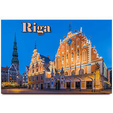 Riga fridge magnet Latvia travel souvenir