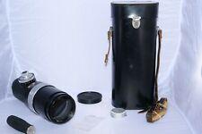 Carl Zeiss Contarex Tele-Tessar 400mm f5.6 telephoto lens. Rare. AS-IS.