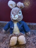 "20"" Peter Rabbit 2019 Collector's Choice Plush by Dan Dee Stuffed Animal Bunny"