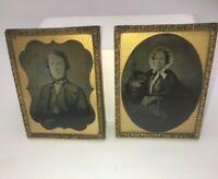 Victorian Ambriotype Photographs from Smiths Photograph Saloon Edinburgh