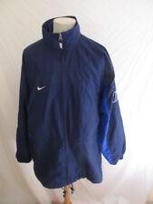 Veste de survêtement vintage des années 90 Nike Bleu Taille XL