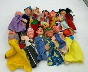 Vintage Puppets Punch & Judy Used Condition (W2)(A)