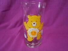 VINTAGE Pizza Hut Care Bear Glass Funshine EUC Shiny and Bright