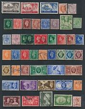 Great Britain *46 All Different (1887-1955)*; Some Higher Cat Values