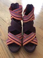 Womens Sorel Joanie II Strap Elderberry Size 7