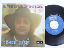 Clarel Betsy ‎– In The Name Of The Lord 85046 RRR