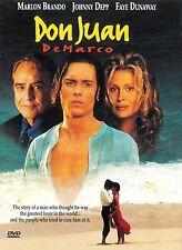 Don Juan de Marco ~ Marlon Brando Johnny Depp ~ DVD ~ FREE Shipping USA