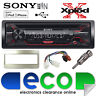 Toyota Yaris Verso 99-05 Sony G1200U CD MP3 USB AuxIn Iphone Car Radio Stereo SL