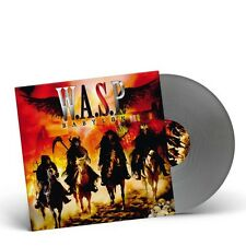 W.A.S.P. - BABYLON LP SILVER VINYL LIMITED SEALED 2015 WASP FREE U.S. SHIPPING