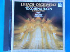 CD TON KOOPMAN BACH TOCCATA & FUGA 565 564 540 538  ORGAN WORKS ARCHIV