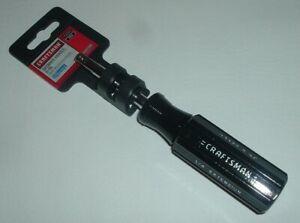 "New 6"" Craftsman Spinner Handle Socket Nut Driver for 1/4"" Drive Model 43372"