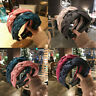 Women's Knot Tie Hairband Headband Silk Plait Wide Hair Band Hoop Accessories