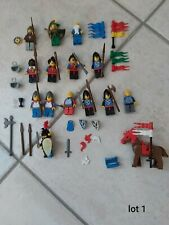 +++Lot lego figurines chevalier vintage+++