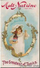 1896 Anheuser-Busch's Malt-Nutrine Tonic Advertising Booklet