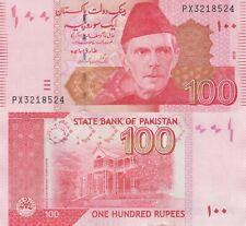 Pakistan 100 Rupees (2018) - Ali Jinnah/Residency/p48h UNC