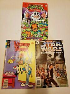 Comic book lot Star Wars Ninja Turtles Looney Tones