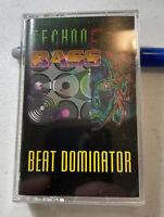 Cassette TECHNO BASS BEAT DOMINATOR Rap Hip Hop Musik Vintage Tape Technobass