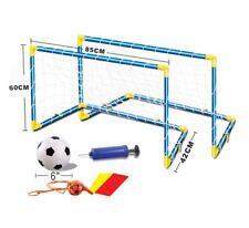 2x Fussballtor Fussball Tor Goal Netz Spielzeug Soccer Fußball Sport Garten NEU