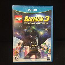 LEGO Batman 3: Beyond Gotham  (Nintendo Wii U, 2014) Brand New