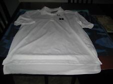 MENS Michigan Wolverines adidas Climalite White Size XL Polo Shirt NWT