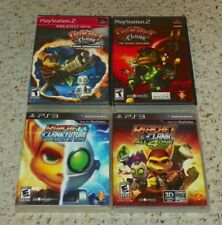 Ratchet & Clank: Going Commando, Up your Arsenal, A Crack in Time & All 4 One