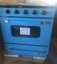 New listing Robin Egg Blue Unique Classic Retro 30� Range Stove Nat Gas/Propane/Lp Vintage