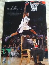 NBA Memphis Grizzlies Ben Mclemore All-Star Slam Dunk Over Shaq Poster Sac Kings