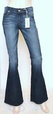 Nwt GUESS Flare Leg Slim Fit Mid Rise Stretch Jeans Pants ~Fairytale Wash *26