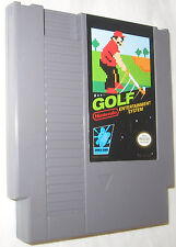 Golf Nintendo Entertainment System NES Cartridge Free Shipping U.S.A.