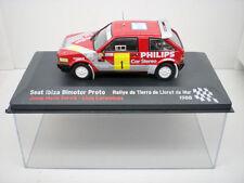 Car Seat Ibiza Twin-Engined Proto Rally 1:43 Ixo Model Serbian Corominas