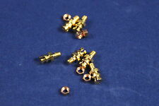 10 Pcs Gold Plated Soldering Pins for Tube Amp Point to Point Wiring