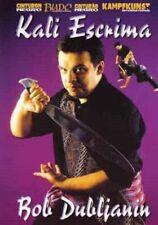 Kali Escrima Filipino Martial Arts Dvd Dubljanin arnis stick blade techniques
