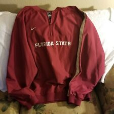 FLORIDA STATE SEMINOLES SWEATER - XL - NIKE AUTHENTIC- THROWBACK