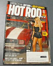 HOT ROD MAGAZINE OCT 2013 SPECIAL ISSUE HOT GIRLS GREAT GARAGES COOL MAN CAVES