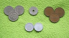 LOTE 9 MONEDAS JAPON (YENS JAPAN) 70s- 80s. 100x3, 50x1, 10x3 & 1x2. BUEN ESTADO