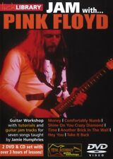 Lick Library JAM WITH Dave Gilmour's PINK FLOYD Guitar Lessons Video 2-DVDs & CD