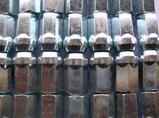 100 x  Radmutter M12x1,5 Geschlossen SW17 Silber Verzinkt Ford Chrysler D90