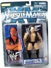 WWE JAKKS PACIFIC WRESTLEMANIA SIGNATURE SERIES 3 STONE COLD STEVE AUSTIN FIGURE