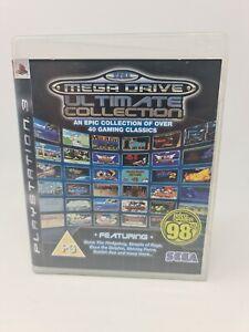 SEGA Mega Drive Ultimate Collection PS3 Playstation 3 Fast Free Postage