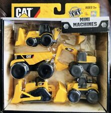 Cat Mini Machines Caterpillar Construction Toys 5 Piece Set