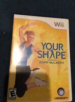 Your Shape: Featuring Jenny McCarthy (Nintendo Wii,GAME ONLY)