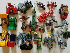 Big Mixed lot of Transformers & Power Rangers / for parts