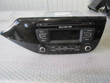 KIA CEE'D 1.6 94KW 5P 6M D4FB (2013) RICAMBIO RADIO AUTORADIO 96170A2100WK